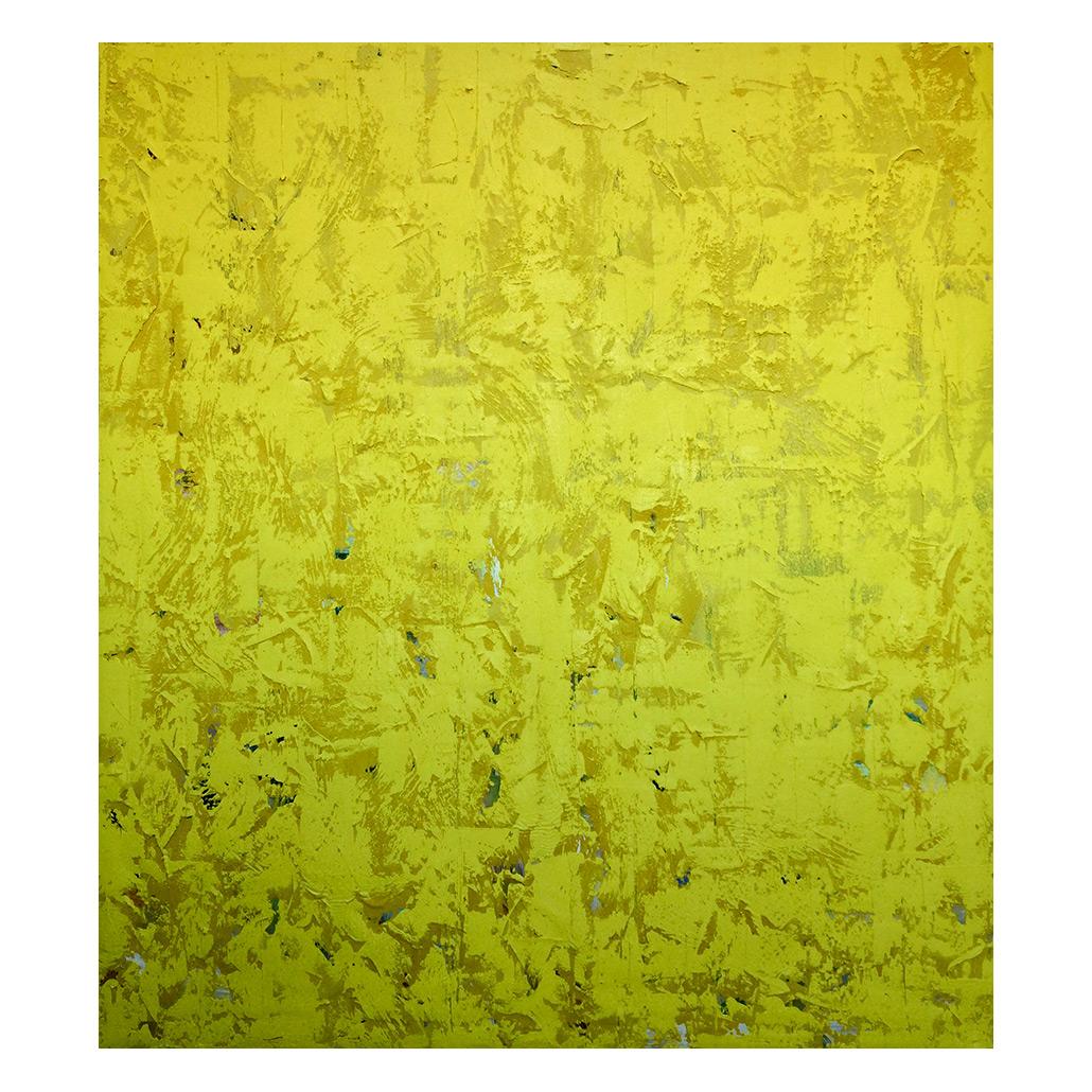 موسى أو لو سليل, (Moussa ou le soleil), 2018, 180 x 160 cm, oil and pigment on canvas